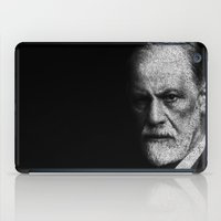 freud iPad Cases featuring Sigmund Freud quote by JuanOsborne