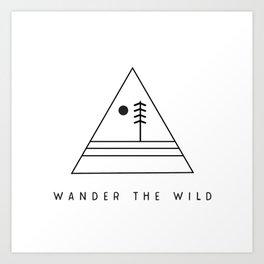 Wander The Wild Art Print