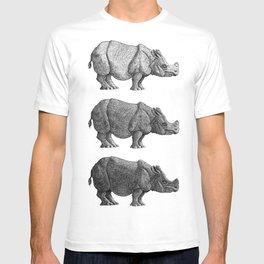 Three Shades of Rhino T-shirt