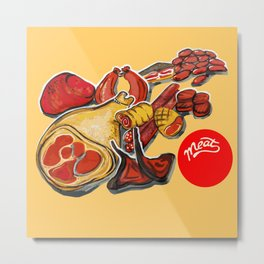 Red meat Metal Print