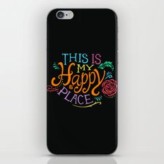 Happy Place iPhone & iPod Skin
