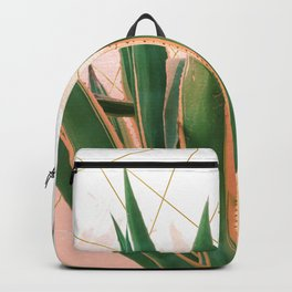 Cactus with geometric Backpack