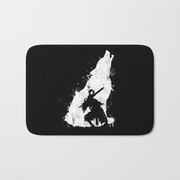 Wolf Knight Bath Mat
