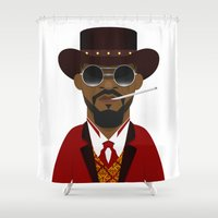 django Shower Curtains featuring DJANGO by Capitoni