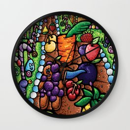 Sweet Cornucopia Wall Clock