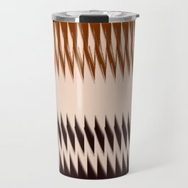 Black and Tan Edge Travel Mug