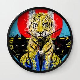 Tiger Wall Wall Clock