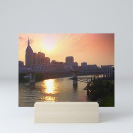 Nashville Dusk Mini Art Print