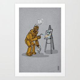 Art is for Humans Art Print