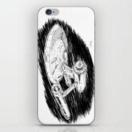 USS Enterprise iPhone Skin