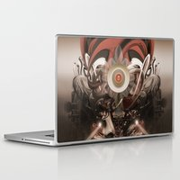 mandie manzano Laptop & iPad Skins featuring Pyropriest by Andre Villanueva