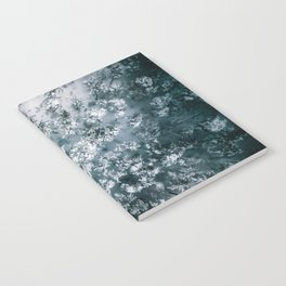 Winter Forest - Aerial Photography Notebook