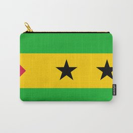 Flag of Sao Tome and Principe Carry-All Pouch