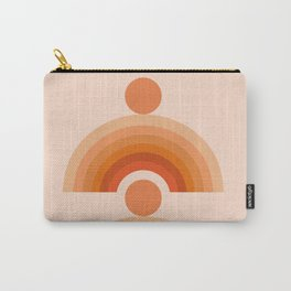 Abstraction_SUN_Rainbow_Minimalism_005 Carry-All Pouch