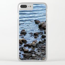 Water's Edge at Walden Pond 2 Clear iPhone Case