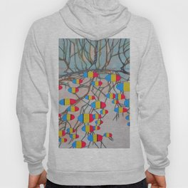 withered tree / potatoes Hoody