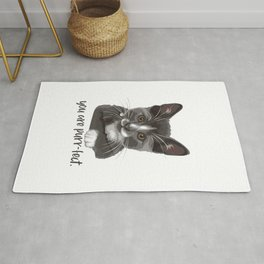 you are purr-fect Rug