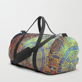 Space mandala 20 Duffle Bag