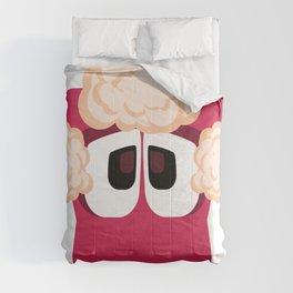 Bubble Beasts: Shocking Strawberry Fur Softener Comforters