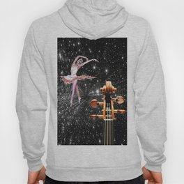Violin and Ballet Dancer number 1 Hoody
