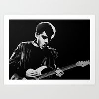 john mayer Art Prints featuring John Mayer by Art by Olivia Louise