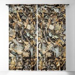 Frozen Leaves Blackout Curtain