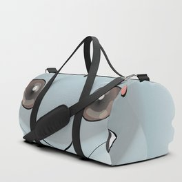 2D Rabbit Duffle Bag