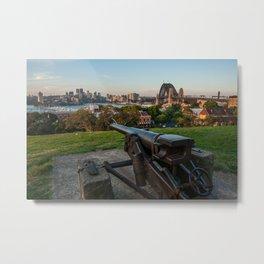 War Memorial, Observatory Hill Park, Sydney Metal Print