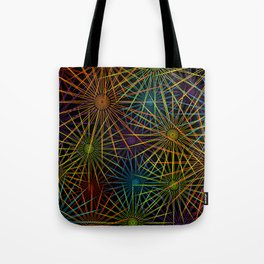 Colorful Christmas snowflakes pattern- holiday season gifts- Happy new year gifts Tote Bag