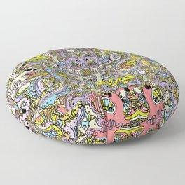 Cartooniverse Floor Pillow