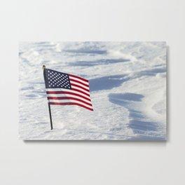 American Flag 1 Metal Print