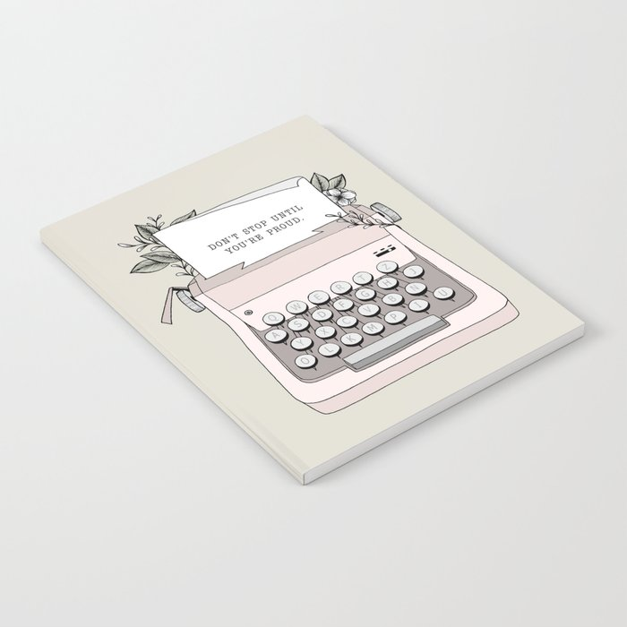 Don't Stop Notebook