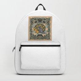 Cat Nouveau Backpack