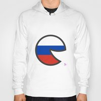 russia Hoodies featuring Russia Smile by onejyoo