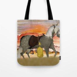 SenditBack - Greyfox's horse Tote Bag