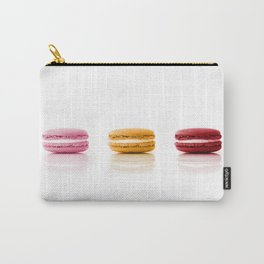 Red, Yellow, Pink, Macarons Carry-All Pouch
