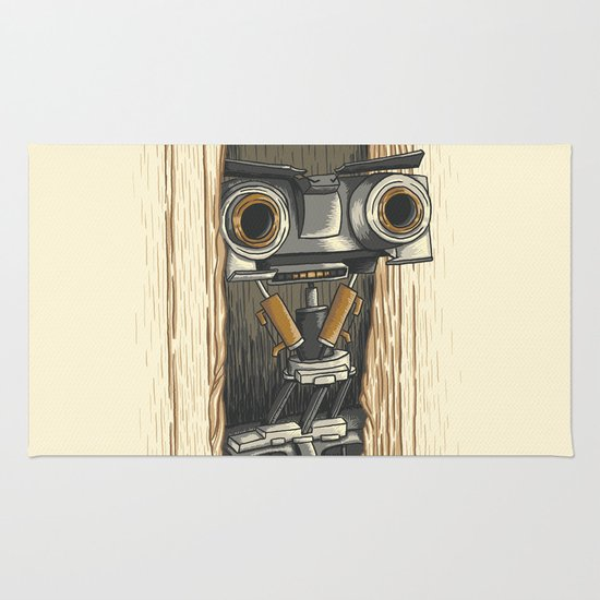 Here's Johnny 5! Rug