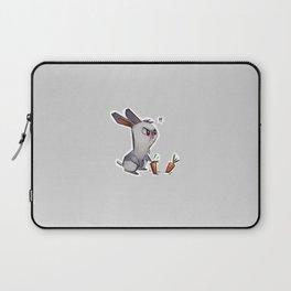 cautious bunny Laptop Sleeve
