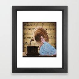 "Collage ""Aria"" Framed Art Print"