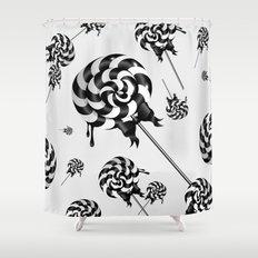 Goth Lollies Shower Curtain