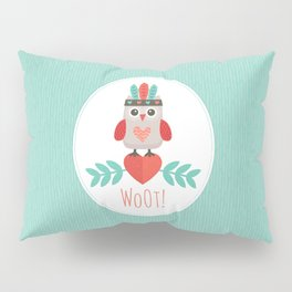 HIPSTER OWLET Pillow Sham