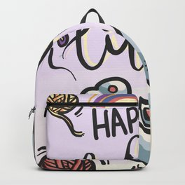 Happy cat life Backpack