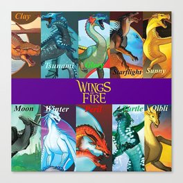 Wings of fire 2 Canvas Print