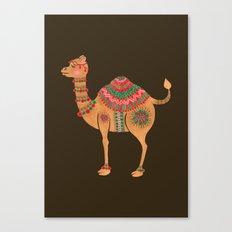The Ethnic Camel Canvas Print