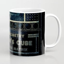 Sacred Geometry for your daily life - METATRON MATRIX Coffee Mug