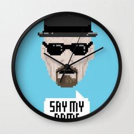Breaking Bad - Say My Name Wall Clock