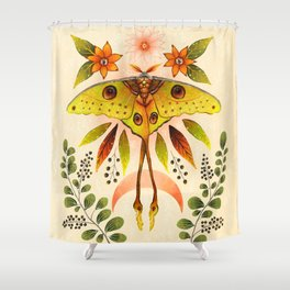 Moth Wings IV Shower Curtain