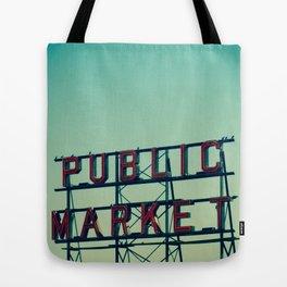 public market... Tote Bag