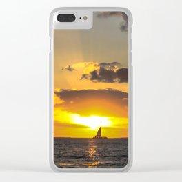 Sunset, Key West, Florida Clear iPhone Case