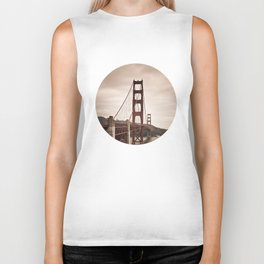 San Francisco, Golden Gate Bridge Biker Tank